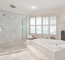Remodeled Master Bathroom Of A House In Tinley Park, Illinois